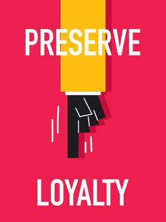 betrayal: Word PRESERVE Illustration