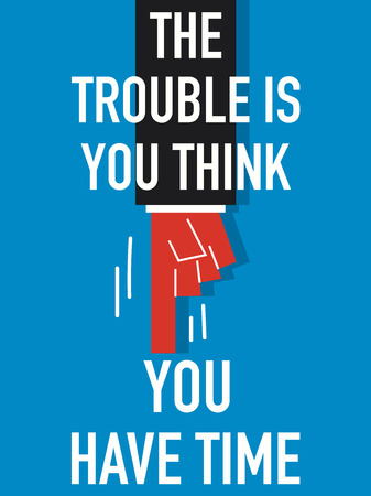 in trouble: Word THE TROUBLE