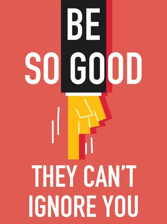 overlook: Word BE SO GOOD