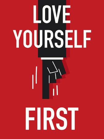 the first love: Palabras amor a ti primero Vectores