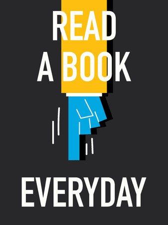 everyday: Words READ A BOOK EVERYDAY