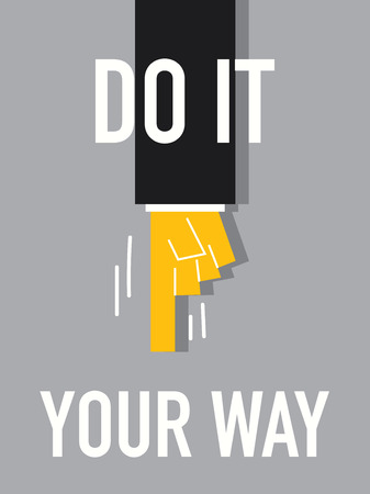 do it: Words DO IT YOUR WAY