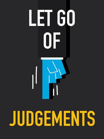 to let: Parole LET GO DELLE DECISIONI