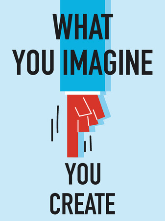 imagine: Words WHAT YOU IMAGINE YOU CREATE