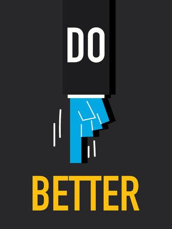 better: Words DO BETTER