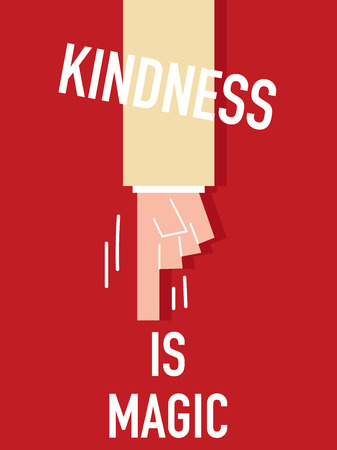 kindness: Words KINDNESS IS MAGIC
