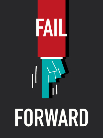 onward: Words FAIL FORWARD