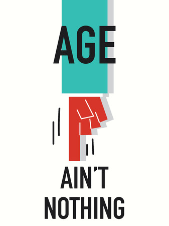 ageing: Words AGE