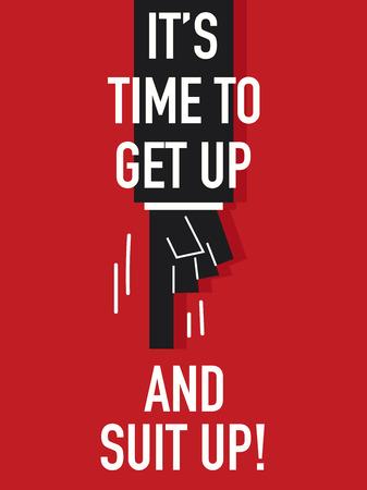 get up: Parole, � il momento di alzarsi e un vestito di UP