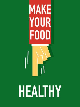 d�vorer: Mots Faites vos aliments sains