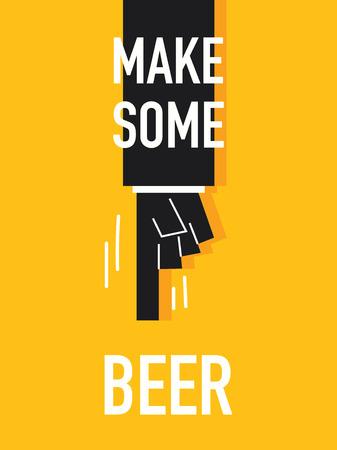 distillery: Words MAKE SOME BEER