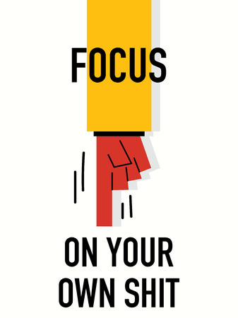 your point: Words FOCUS