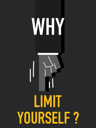 yourself: Words WHY LIMIT YOURSELF