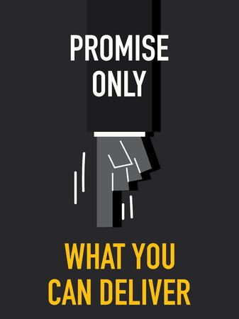 tu puedes: Palabras Promiseonly LO QUE PUEDE ENTREGAR Vectores
