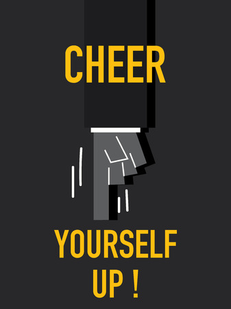 cheer up: Words CHEER YOURSELF UP