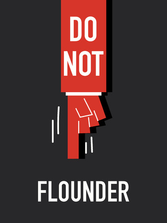 flounder: Words DO NOT FLOUNDER