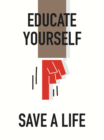 ingenious: Words EDUCATE YOURSELF SAVE A LIFE