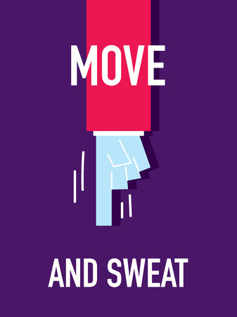 schwitzen: W�rter MOVE AND SWEAT