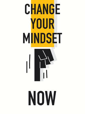 mindset: Words CHANGE YOU MINDSET NOW