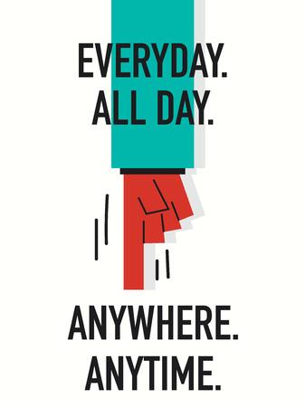 mindennapi: Szavak EVERYDAY MINDEN NAP bárhol bármikor