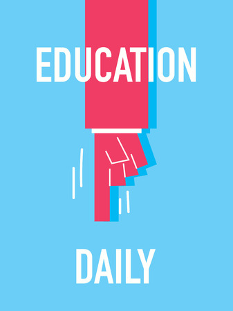 special education: Words EDUCATION DAILY