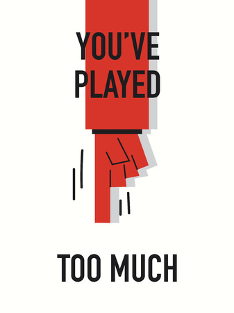 too much: Words PLAYED TOO MUCH