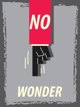 wonder: Words NO WONDER