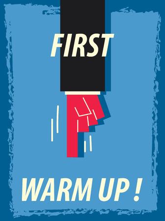 warm up: Parole PRIMA WARM UP