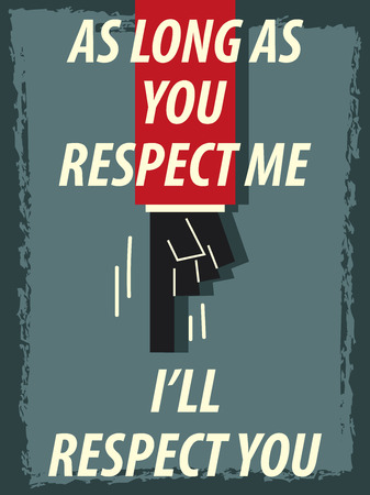 respect: Words RESPECT
