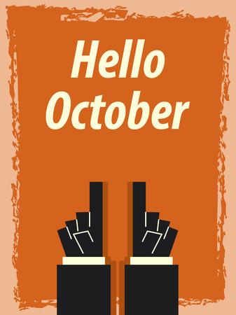 october: Hello October