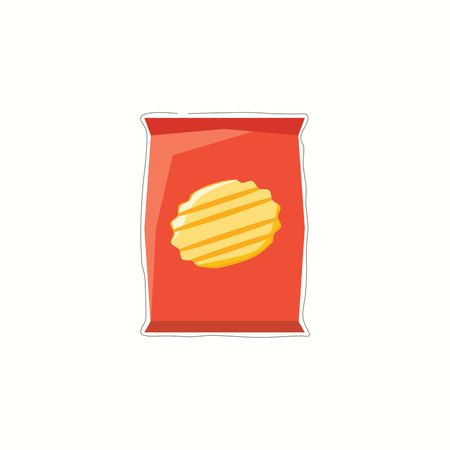 Chips vector illustration Illustration