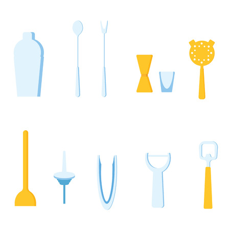 cobbler: Bar Tools vector illustration
