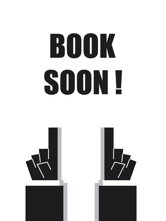 reservations: BOOK SOON typography