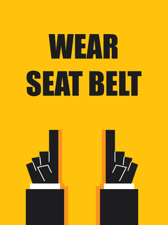 seat belt: WEAR SEAT BELT