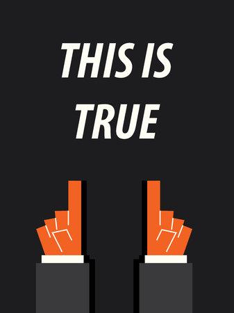 true: THIS IS TRUE typography