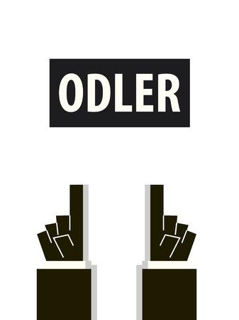 older: OLDER typography illustration