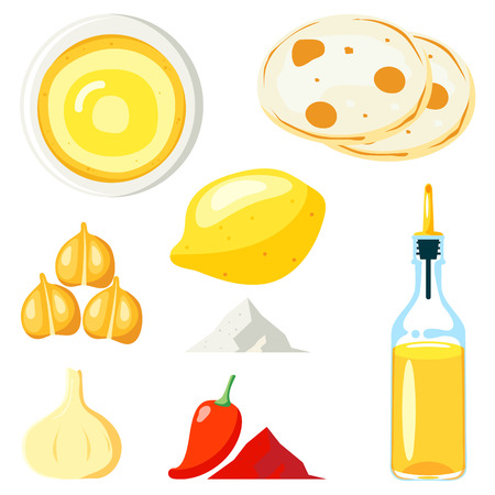 Hummus illustration