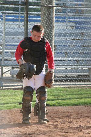 Little League Catcher Stock Photo - 2650606