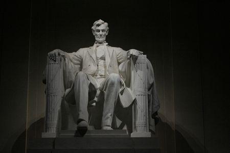 夜アブラハム リンカーン記念館