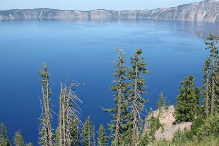 Deep Blue Water Фото со стока