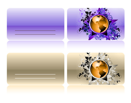 visit cards  Vector