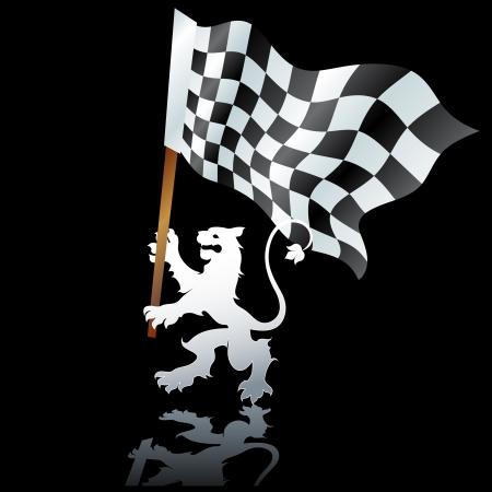 rallying: pabell�n f�rmula Vectores