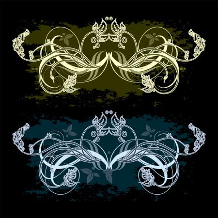ornamental set Vector