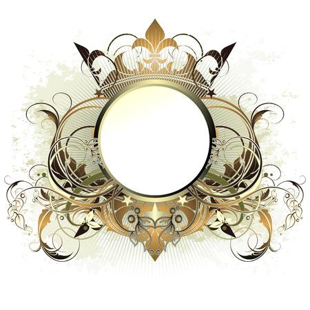 ornamental shield: ornamental shield