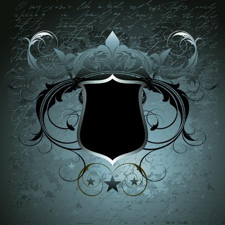 ornamental shield Stock Vector - 4531881
