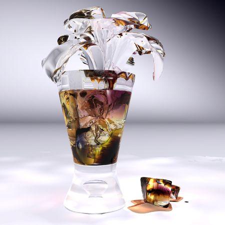 flourishing: ice tea