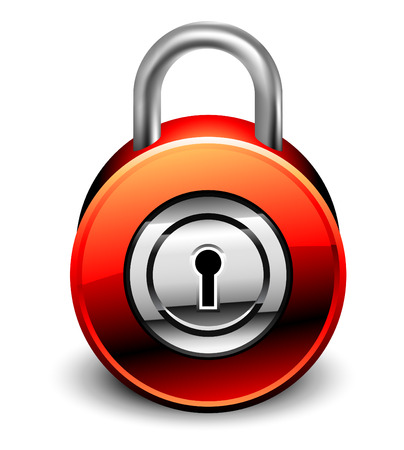 padlock detailed icon Stock Vector - 5333239