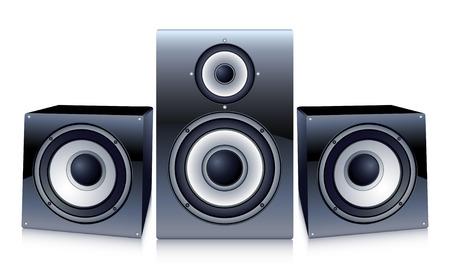 speaker system: speakers Illustration