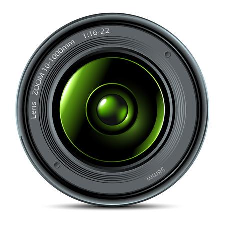 photo lens Stock Vector - 5710690