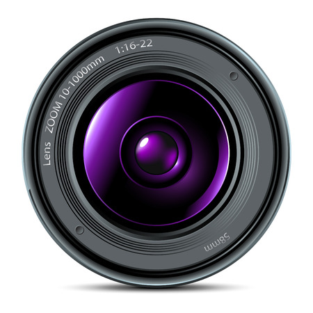 camera lens: lens Illustration